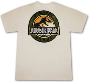 employee t-shirt for your job at jurassic park
