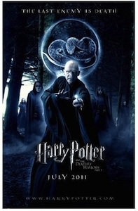 Harry Potter and the Deathly Hallows part 2 Lord Voldemort poster