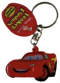 Cars 2 Lightning McQueen Key Chain
