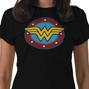 any color Wonder Woman t-shirt