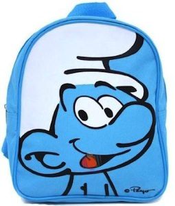 """10"""" high blue The Smurfs Backpack"""