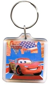 Lightning McQueen in the UK key chain