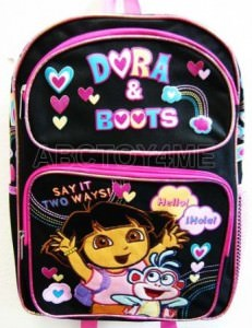 Dora And Boots Backpack