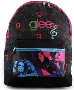Glee canvas backpack great for school and fun