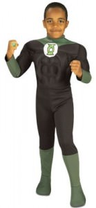 Green Lantern Kids Costume And Ring