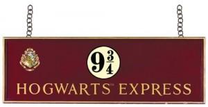 Hogwarts Express Wooden Sign