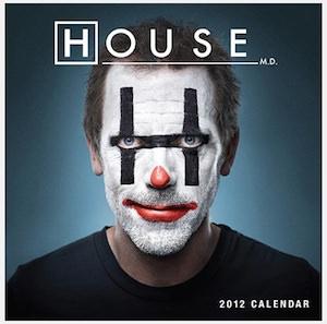 House M.D. 2012 Wall Calendar