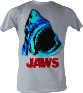 Jaws electric face t-shirt