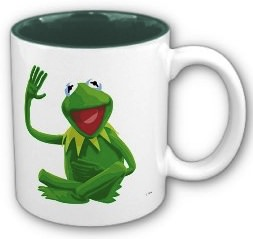 The Muppets Kermit The Frog coffee mug