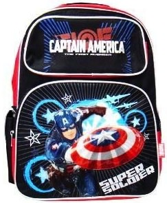 Captain America goodies for back to school