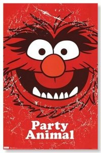 Muppets Party Animal Poster