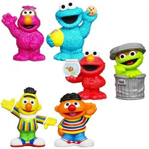 Sesame Street 6 Figure Set