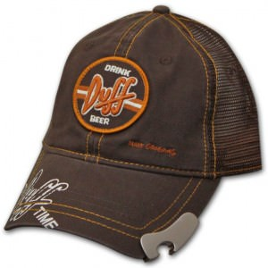 Simpsons Duff Drink Opener Hat
