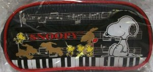 Snoopy and woodstock pencil case