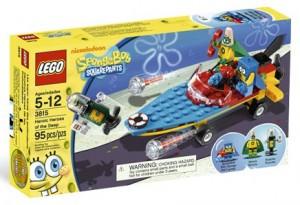 Sponge Bob Heroic Heroes Lego