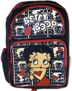Betty Boop big backpack
