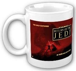 Star Wars Return of the Jedi coffee mug