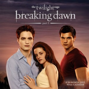 Breaking Dawn 2012 Wall Calendar