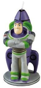 Toy Story Birthday candle of buzz lightyear