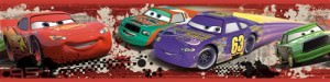 Cars Piston Cup Racing Peel & Stick Border