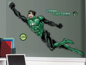 Green Lantern Giant Wall Decal