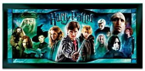 Harry Potter Illuminating Stained-Glass Panorama Wall Decor