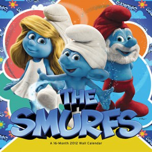 Smurfs 2012 Wall Calendar