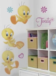 Tweety Bird Giant Wall Decals