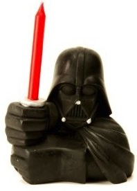 Star Wars Birthday candle of Darth Vader