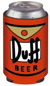 Duff Beer can cooler koozie