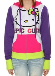 Hello kitty epic cute hoodie