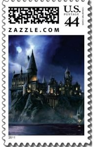 Harry Potter Stamp of Hogwarts