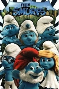 Smurf group poster