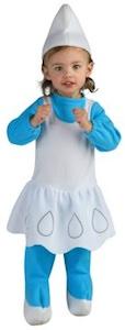Smurfette infant halloween costume
