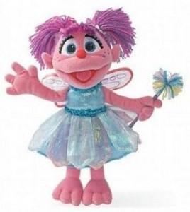 Sesame Street Abby Cadabby Plush Doll