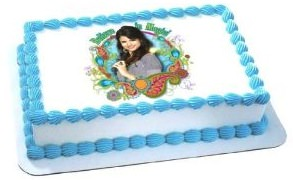 Alex Russo Edible Icing cake topper