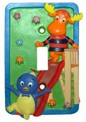 Backyardigans light switch cover