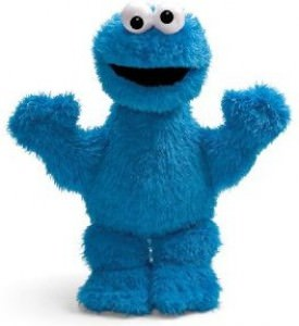 Sesame Street Cookie Monster Plush Doll