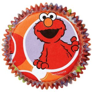 Elmo Cupcake baking cups
