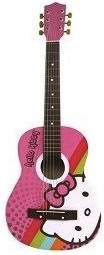 Hello Kitty Accoustic guitar