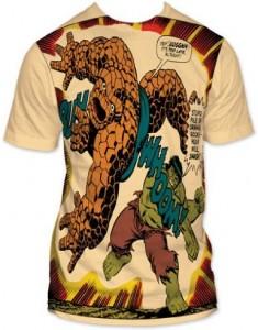 Marvel Hulk VS Thing T-Shirt
