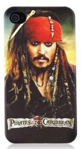 Pirates Of The Caribbean Jack Sparrow iPhone 4S Case