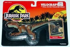 Jurassic Park Velociraptor Action Figure