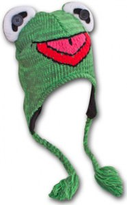 The Muppets Kermit Beanie Hat