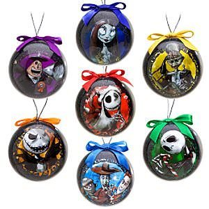 The Nightmare Before Christmas 7pc Ornament Set