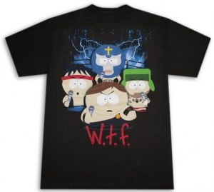 South Park W.T.F. Wrestling T-Shirt