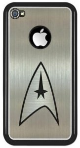 Star Trek Metallic iPhone 4 Case