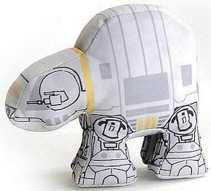 Star wars plush version of AT-AT