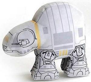 Star wars plush version of AT-AT