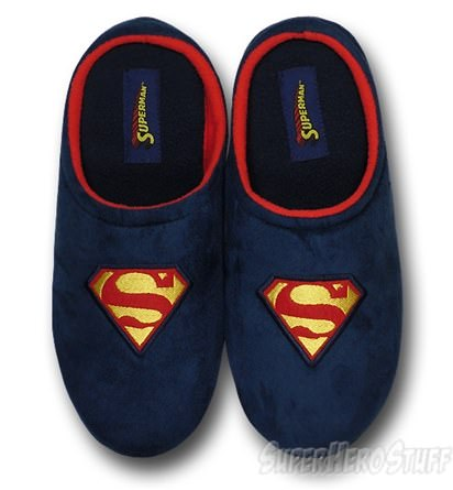 Superman Polar fleece slippers